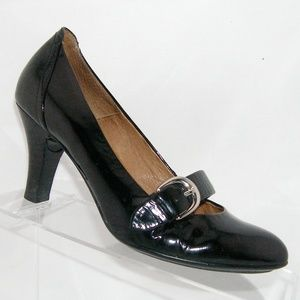 554902e2860f Sofft Shoes - Soft black patent leather mary jane heel 6.5M